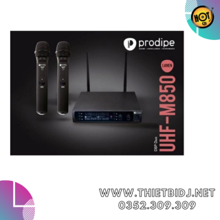 Prodipe - UHF M850 DSP Duo - UHF Dynamic Vocal Microphone-